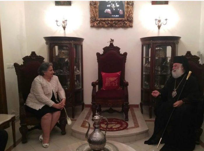 You are currently viewing Εισαγγελείς του Αρείου Πάγου υποδέχθηκε ο Πατριάρχης Αλεξανδρείας Θεόδωρος στο Κάιρο