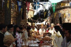 Πλήθος πιστού λαού στον εορτασμό για τον Άγιο Εφραίμ-Συνεχίζεται το προσκύνημα