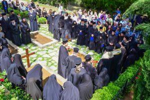 Εις την Ιερά Μονή Κοιμήσεως της Θεοτόκου Πανοράματος Θεσσαλονίκης Πολυαρχιερατικό Συλλείτουργο και το Ιερό Μνημόσυνο