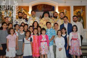 Ο Μητροπολίτης Νεαπόλεως Βαρνάβας στην Ιεραποστολική Αδελφότητα «Χριστιανική Ελπίς»