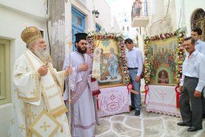 Η εορτή του Αγίου Πνεύματος στην Ι. Μητρόπολη Παροναξίας