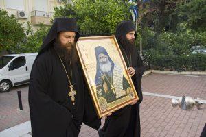 Τα θαυματουργά ιερά λείψανα του Αγίου Φιλουμένου στην Μητρόπολη Καισαιριανής
