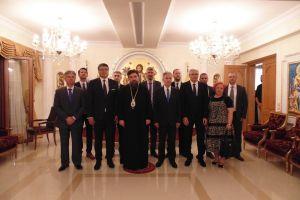 Ο Δήμαρχος της Σερβικής πόλεως Νις επισκέφθηκε τον Σεβ.Μητροπολίτη Σερρών Θεολόγο