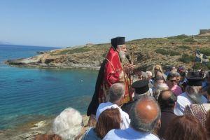 Στη μαρτυρική Μακρόνησο ιερούργησε ο Μητροπολίτης Σύρου Δωρόθεος