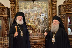 Ο Πατριάρχης Αλεξανδρείας επισκέφθηκε τον Μητροπολίτη Θεσσαλονίκης