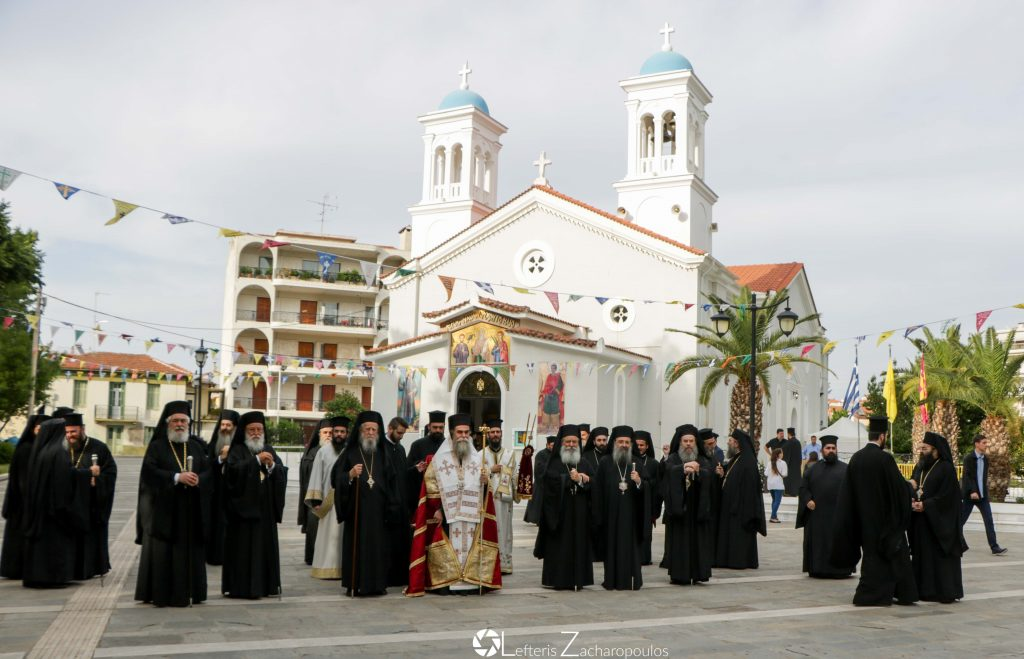 You are currently viewing Πολυαρχιερατικός Εσπερινός στην Τρίπολη
