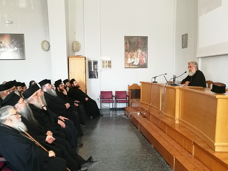 Ο Σεβ. Μητροπολίτης Ιλίου στην 4η Ιερατική Σύναξη της Ι.Μ. Εδέσσης