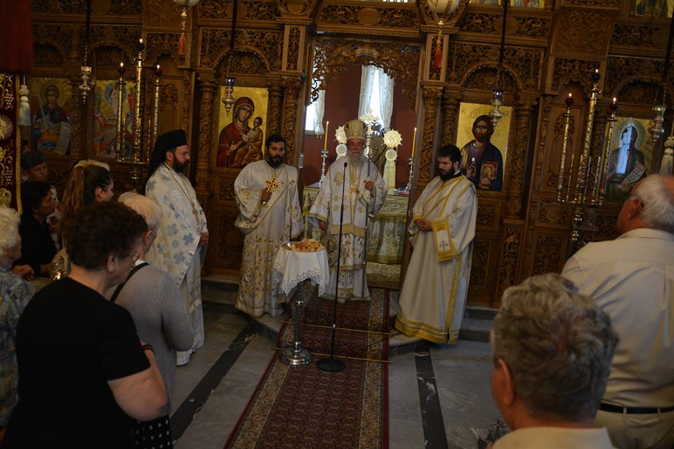 Εγκαίνια Ιεράς Μονής Νικητών Καβάλας