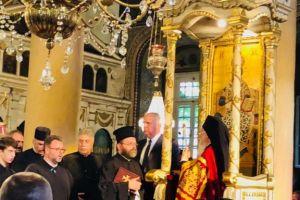 Tα ονομαστήρια του Οικουμενικού Πατριάρχη Βαρθολομαίου