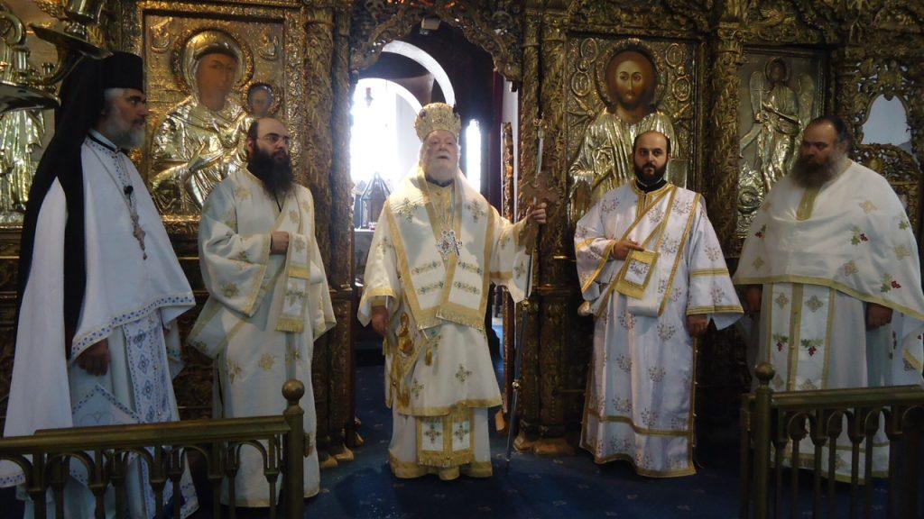 Η εορτή του  Αγίου Τριφυλλίου Επισκόπου Λήδρας,πολιούχου Λευκωσίας.
