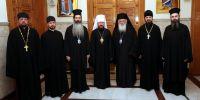 Συνάντηση Αρχιεπισκόπου με τον Μητροπολίτη Βολοκολάμσκ Ιλαρίωνα