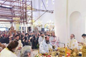 Παρουσία του Τιμίου Σταυρού ο εορτασμός του Ιωάννου Προδρόμου στον Λαγκαδά