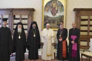 Στο Βατικανό αντιπροσωπεία του Φαναρίου για τη θρονική εορτή