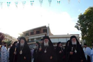 Λάμπρος ο εορτασμός για τον Απ. Παύλο στην Κόρινθο,προεξάρχοντος του Αρχιεπισκόπου
