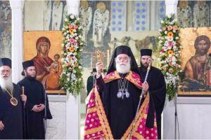 Ο Πατριάρχης Αλεξανδρείας Θεόδωρος στον Εσπερινό των Αποστόλων Πέτρου και Παύλου στη Βέροια