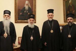 Στον Σερβίας Ειρηναίο αντιπροσωπεία από το Φανάρι