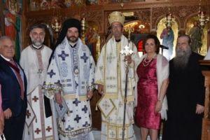 Εγκαίνια Ιερού Ναού στις Ροβιές Ευβοίας από τον Μητροπολίτη Αγίου Φραγκίσκου Γεράσιμο