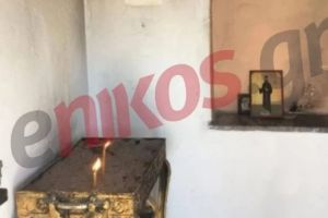 Bεβήλωσαν το εκκλησάκι του Αγίου Νικολάου στη Λέσβο και…πέταξαν τις εικόνες στη θάλασσα!!!