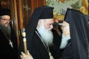 Βαρθολομαίος-Ιερώνυμος στην Αρχιεπισκοπή – Τι συζητήθηκε στη συνάντησή τους