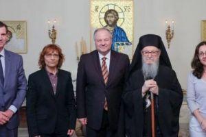 Συνάντηση του Αρχιεπισκόπου Δημητρίου με την ηγεσία της Ελληνικής Αστυνομίας