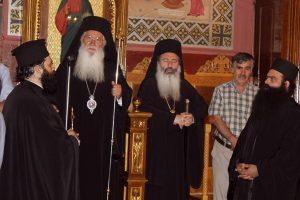 Πανηγυρικός Eσπερινός στο Ληξούρι για τον Άγιο Παναγή Μπασιά