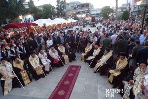 Συνοδικός Εσπερινός χθες στην Κόρινθο για τον Απόστολο Παύλο