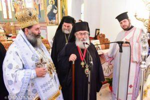 Τον Αρχιεπίσκοπο Σιναίου τίμησε ο Λαγκαδά Ιωάννης