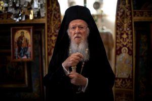 Ο Οικουμενικός Πατριάρχης Βαρθολομαίος στην Ουκρανική παροικία της Πόλης