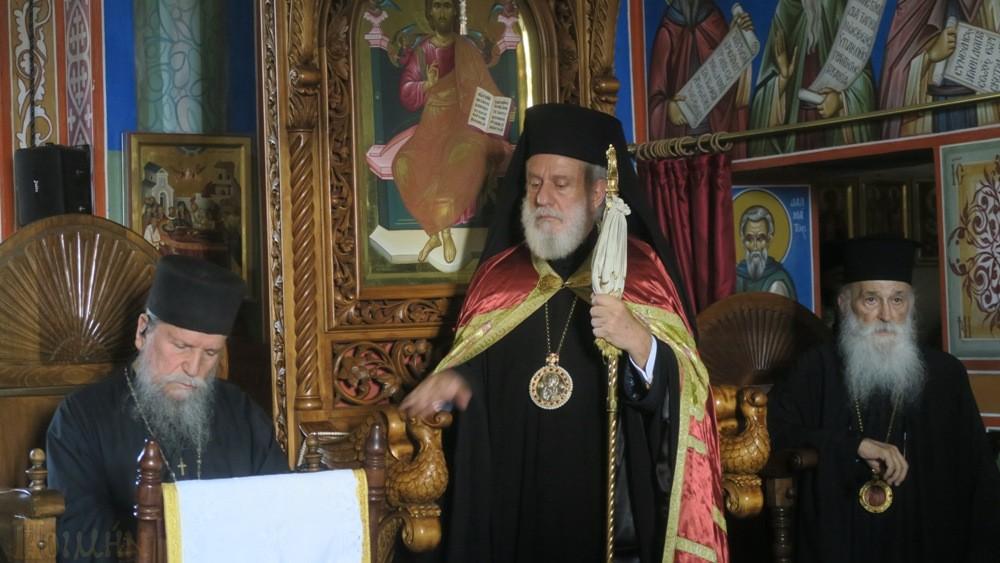 Ο Αρχιεπίσκοπος και Συνοδικοί Ιεράρχες ,επισκέφθηκαν την Ι. Μονή Οσίου Συμεών του Νέου Θεολόγου
