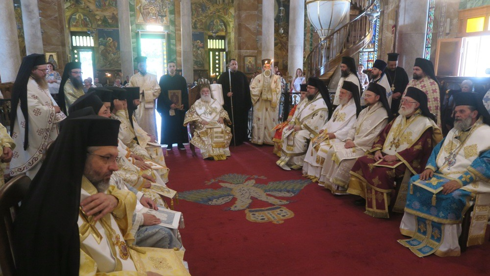 Πατριαρχική Διορθόδοξη Θεία Λειτουργία στην Αλεξάνδρεια
