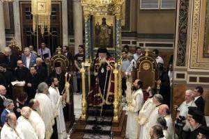 Για πρώτη φορά, στα 10 χρόνια, με τόση επισημότητα τα ονομαστήρια του Αρχιεπισκόπου Αθηνών Ιερωνύμου