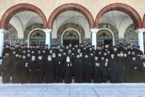 1η Ιερατική Σύναξη στη Λάρισα μετά την εκδημία του μακαριστού Λαρίσης Ιγνατίου