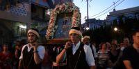 Κοσμοσυρροή στην Αγία Παρασκευή Καστέλλου στη Χίο