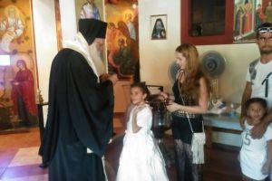 Βάπτιση εικοσιπέντε παιδιών ΡΟΜΑ στο Φυτόκο