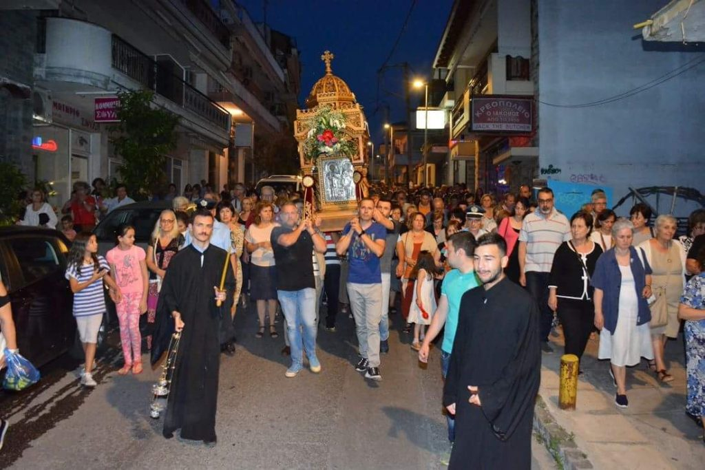You are currently viewing Λαμπρός ο εορτασμός των Αγίων Αναργύρων στη Θεσσαλονίκη