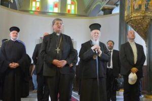Στη Θεολογική Σχολή της Χάλκης ο Οικ.Πατριάρχης Βαρθολομαίος με τον Αρχιεπίσκοπο Φλωρεντίας