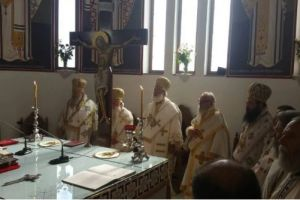 Λαμπρός εορτασμός του Αγίου Ανδρέου Κρήτης στη Μητρόπολη Αρκαλοχωρίου