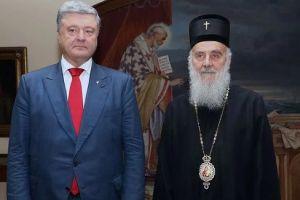 Κινητικότητα Ποροσένκο για το θέμα της αυτοκεφαλίας της Ουκρανίας- Επισκέφθηκε τον Σερβίας Ειρηναίο