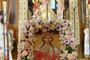 Με λαμπρότητα ο εορτασμός της Αγίας Μεγαλομάρτυρος Κυριακής στην Καστοριά