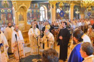 Ο Γέρων Θεσσαλονίκης Ανθιμος στον Προφήτη Ηλία Πυλαίας