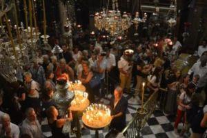 Χιλιάδες προσκυνητές για την εορτή του Οράματος της Οσίας Πελαγίας στην Τήνο