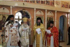 Ο Ιεροσολύμων Θεόφιλος στην εγκατάσταση του νέου Επιτρόπου Β.Ιορδανίας