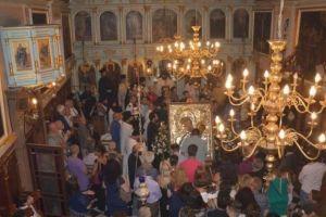 Αντίγραφο της Παναγίας Παραμυθίας από το Βατοπαίδι μόνιμα στη Λευκάδα