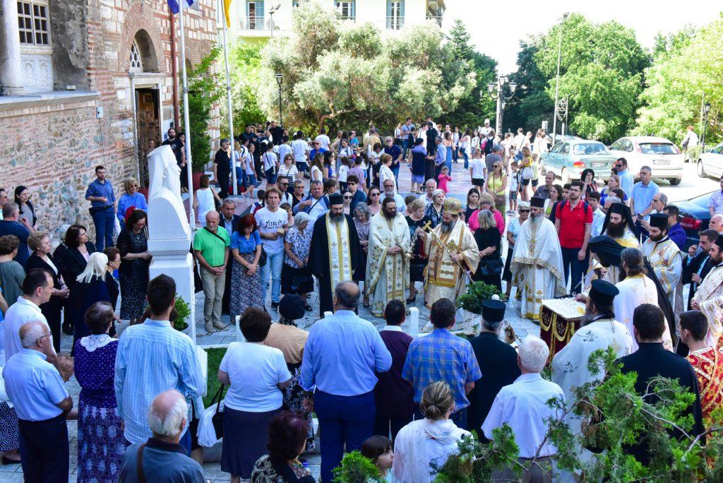 Συμπληρωση 15 ετών από την εις Κύριον εκδημίας του μακαριστού Μητροπολίτου Θεσσαλονίκης Παντελεήμονος του Β'