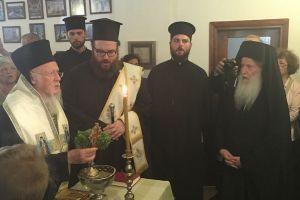 Ο Οικ. Πατριάρχης εγκαινίασε το Επισκοπείο στην Αττάλεια