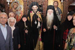 Μεγαλοσχημία Μοναχής στην Ιερά Μονή Παναγίας Μακελλαριάς Καλαβρύτων