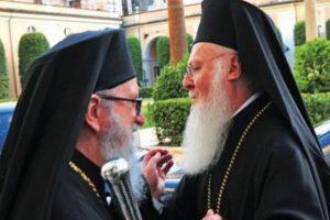 """Μήνυμα του Οικ.Πατριάρχη στην Κληρικολαική: """"Δεν κρύβουμε την έντονη ανησυχία μας για την Αρχιεπισκοπή Αμερικής"""""""