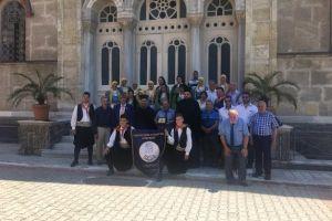 Ο Μητροπολίτης Καλλιουπόλεως Στέφανος ως Πατριαρχικός Επίτροπος στην Αγία Κυριακή Υψωμαθείων και Τρισάγιο στον Πατριάρχη Αθηναγόρα