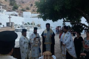 Η εορτή της Αγίας Μαρίνης στην Μητρόπολη Σύμης