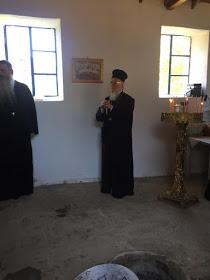 Ο Πατριάρχης στην Παναγία την Μπαλωμένη της Ιμβρου